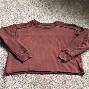Aerie Cropped Sweatshirt